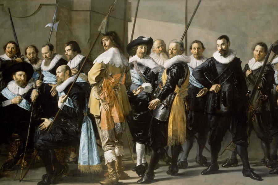 Schutters van wijk XI onder leiding van kapitein Reynier Reael