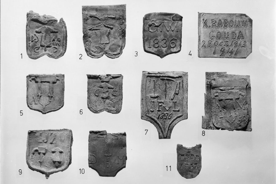 Trotseerloodjes, collectie Rijksdienst voor het Cultureel Erfgoed